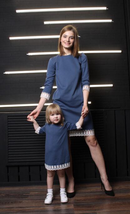 платья мама и дочка